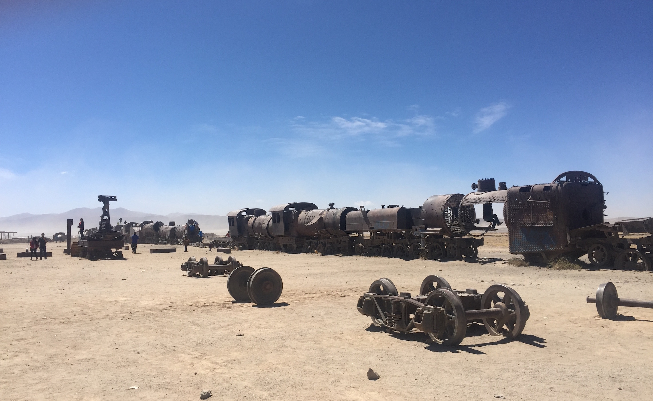 MMT Bolivia Train Graveyard