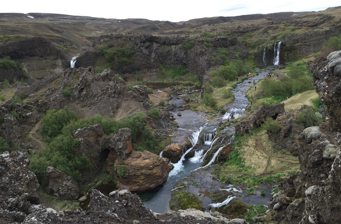 Iceland-Gjain-Valley-Hike-and-Waterfalls-5