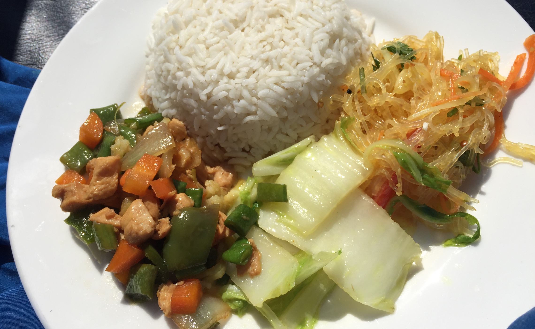 Burmese Cuisine: Chicken, Rice, and Vermacilli