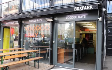 Travel Blog Post about Boxpark Shoreditch London UK