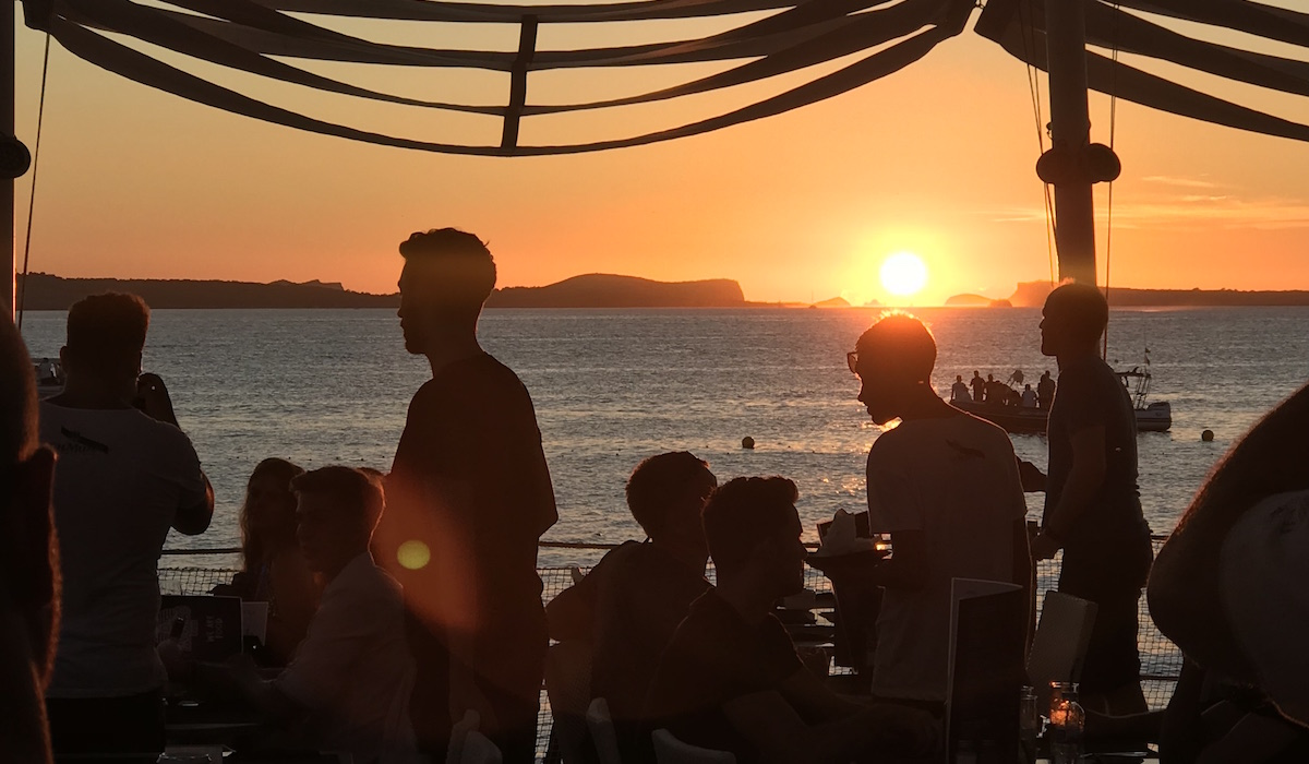 Ibiza Cafe Mambo Sunset San Antonio