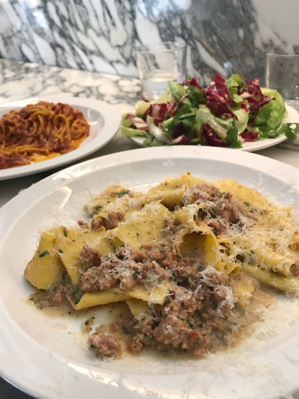 Padella London Pappardelle with Black Hampshire Sausage & Fennel Ragu