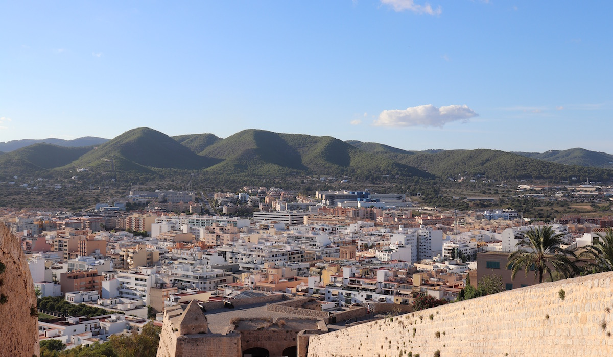 The View from Ibiza Castle