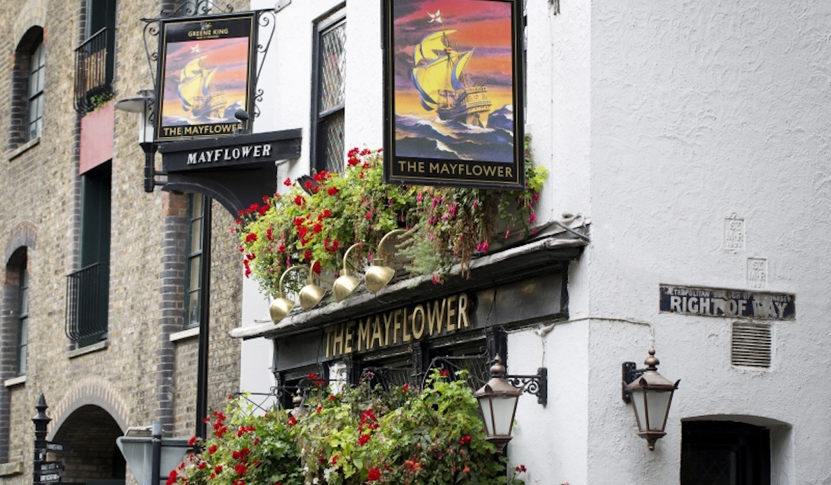 The Mayflower Rotherhithe Pub