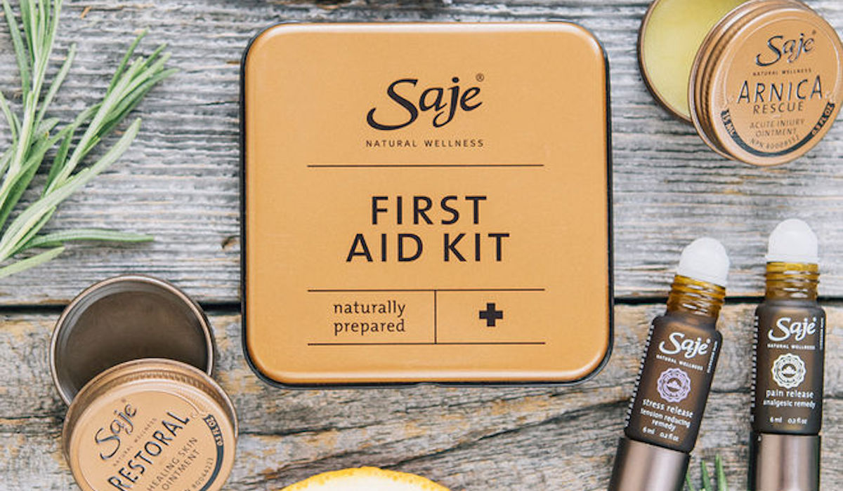 Travel Gift Idea Saje First Aid Kit