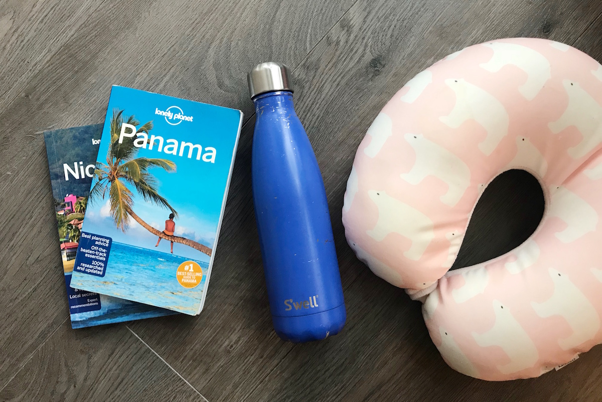 round the world travel packing list