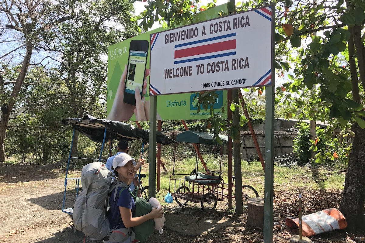 Costa Rica Border Crossing from Nicaragua