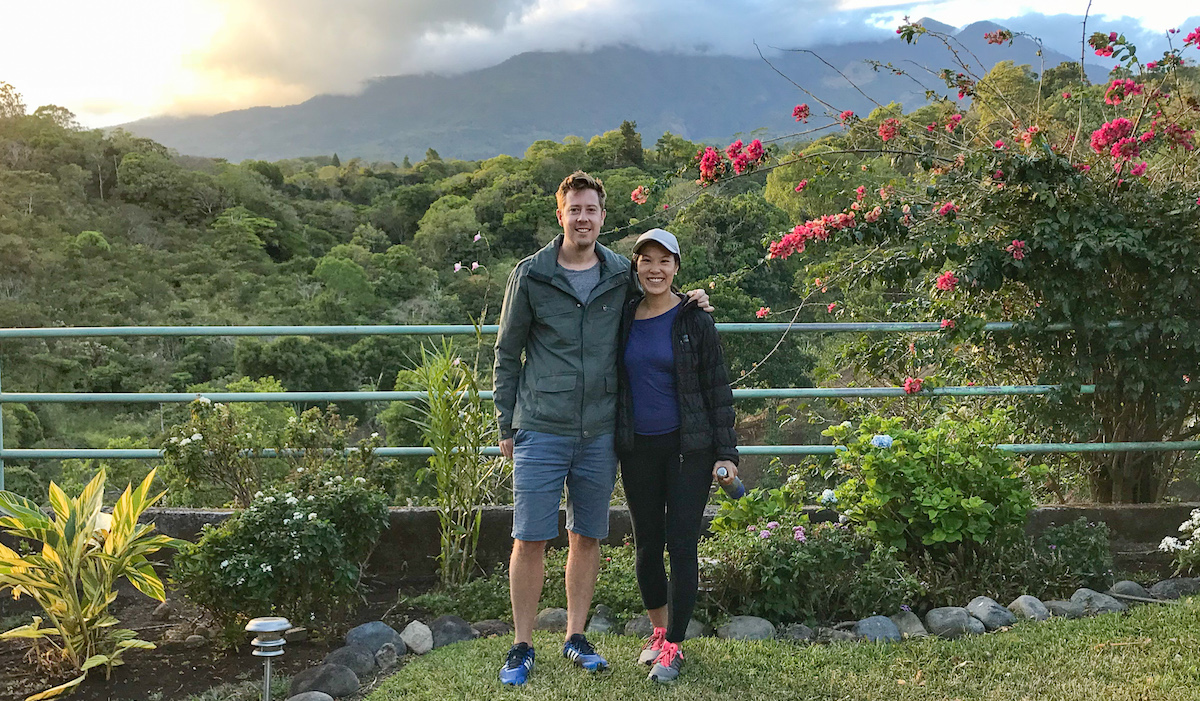 Views from Hacienda Belina, Hector's Family Farm Which Can Also Be Rented Out on AirBnB