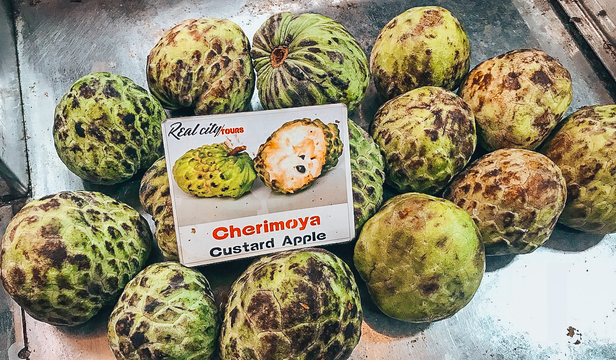 Medellin Exotic Fruits Market Tour - Custard Apple