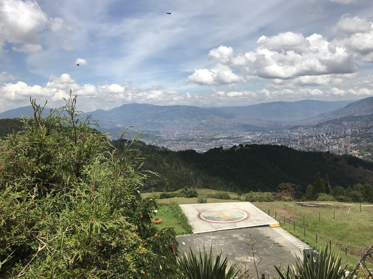 Helicopter Landing Pad at La Catedral