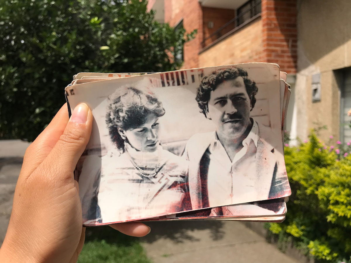 Photographs of Pablo Escobar's life that Carlos the Ex-Cop has Access To