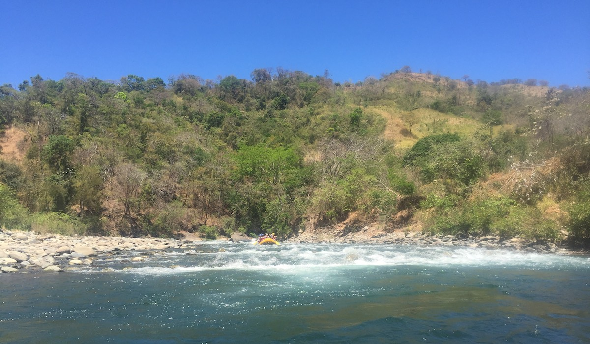 White Water Rafting in Boquete, Panama with Chiriqui River Rafting