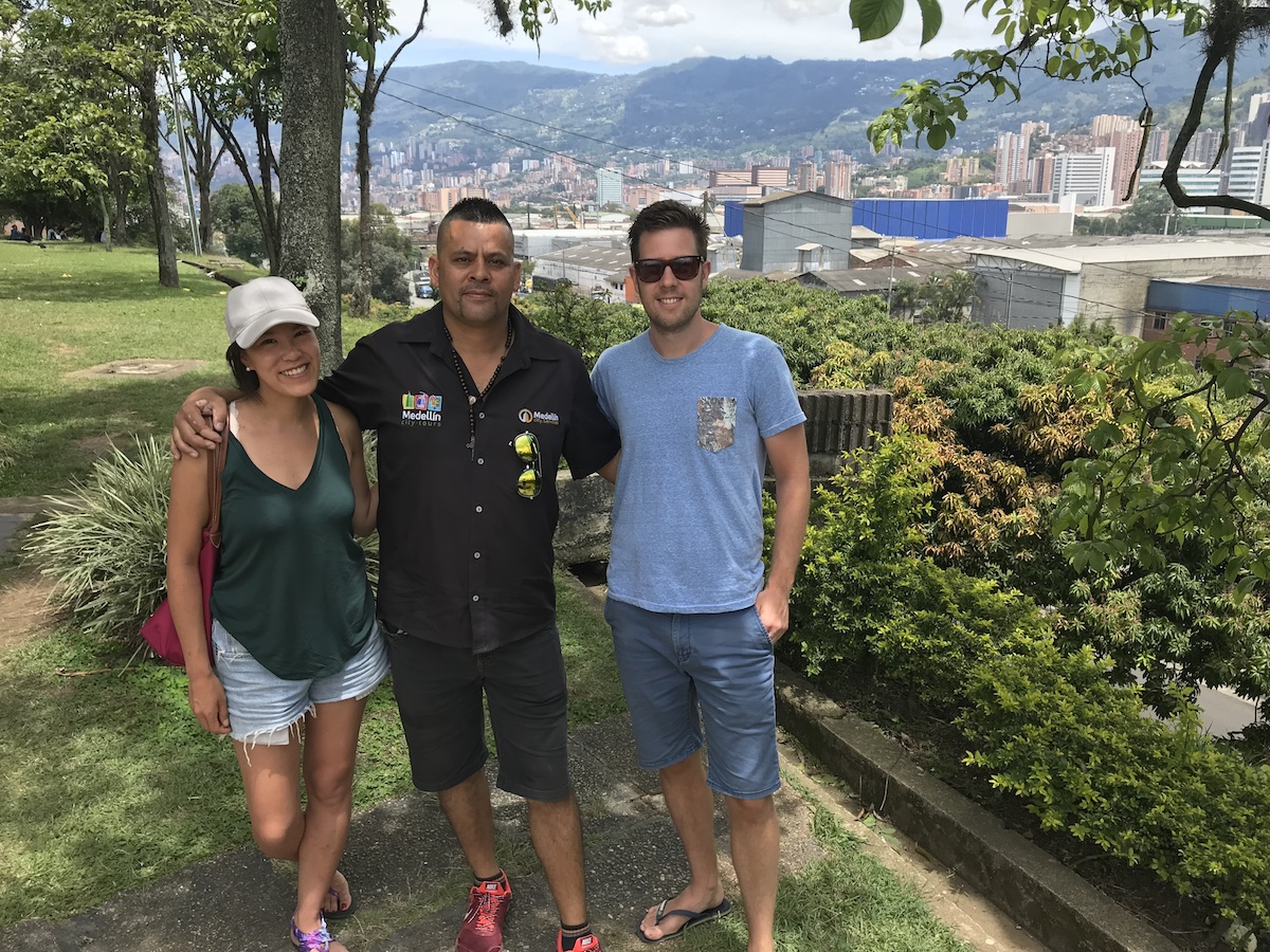 carlos the ex-cop tour in medellin