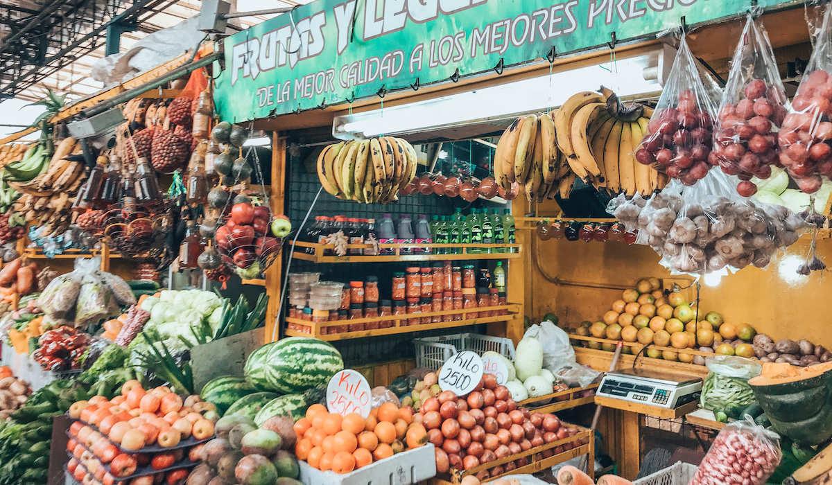 Medellin Exotic Fruits Market Tour at Minorista Market