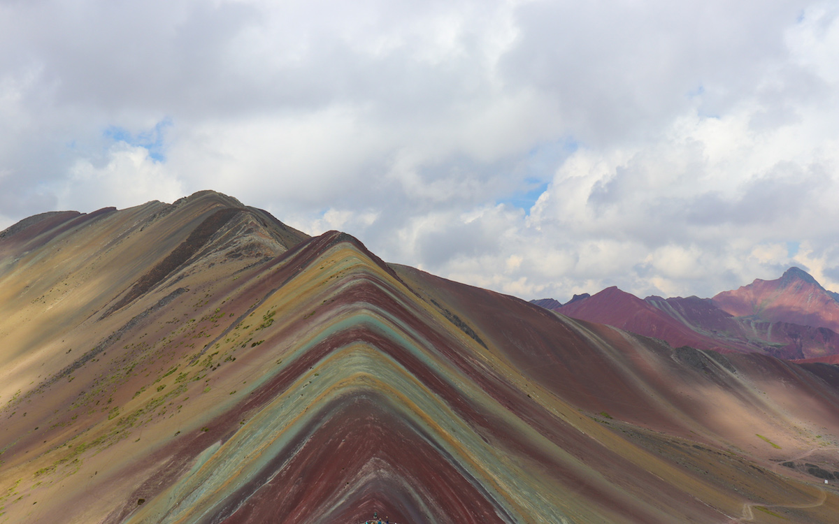 Apu Winicunca Rainbow Mountain in Peru