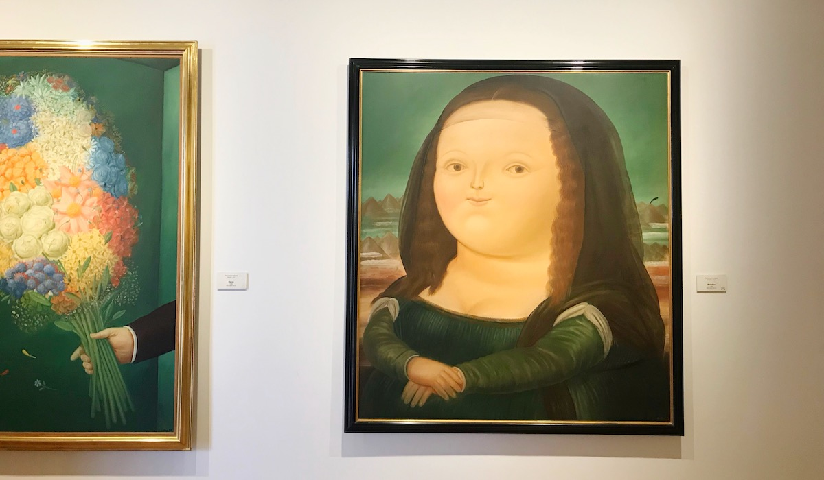 Botero Museum in Bogota, Colombia