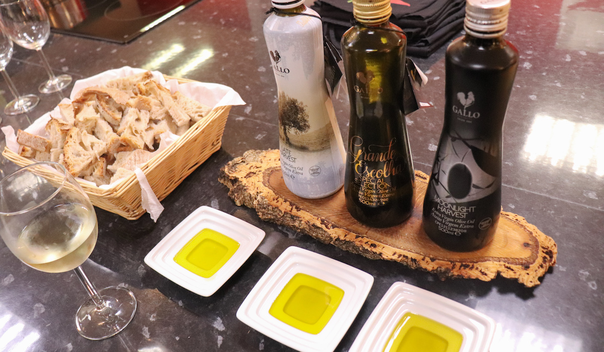 Cooking Lisbon: Bread with Three Different Types of Olive Oil