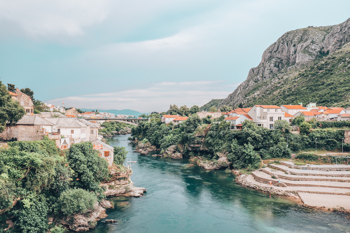 Mostar, Bosnia and Herzegovina | View from Stari Grad
