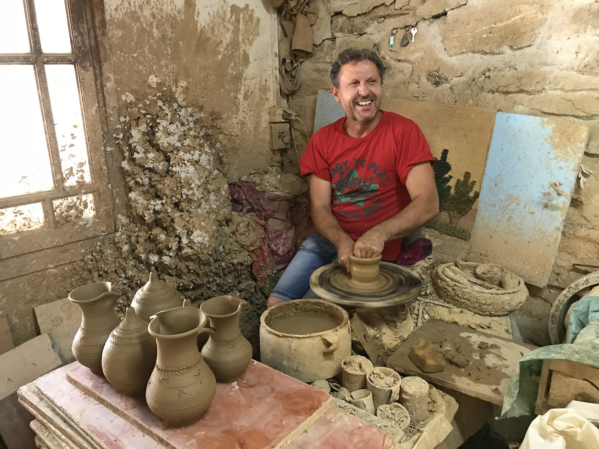 Pottery Making in Naxos Greece