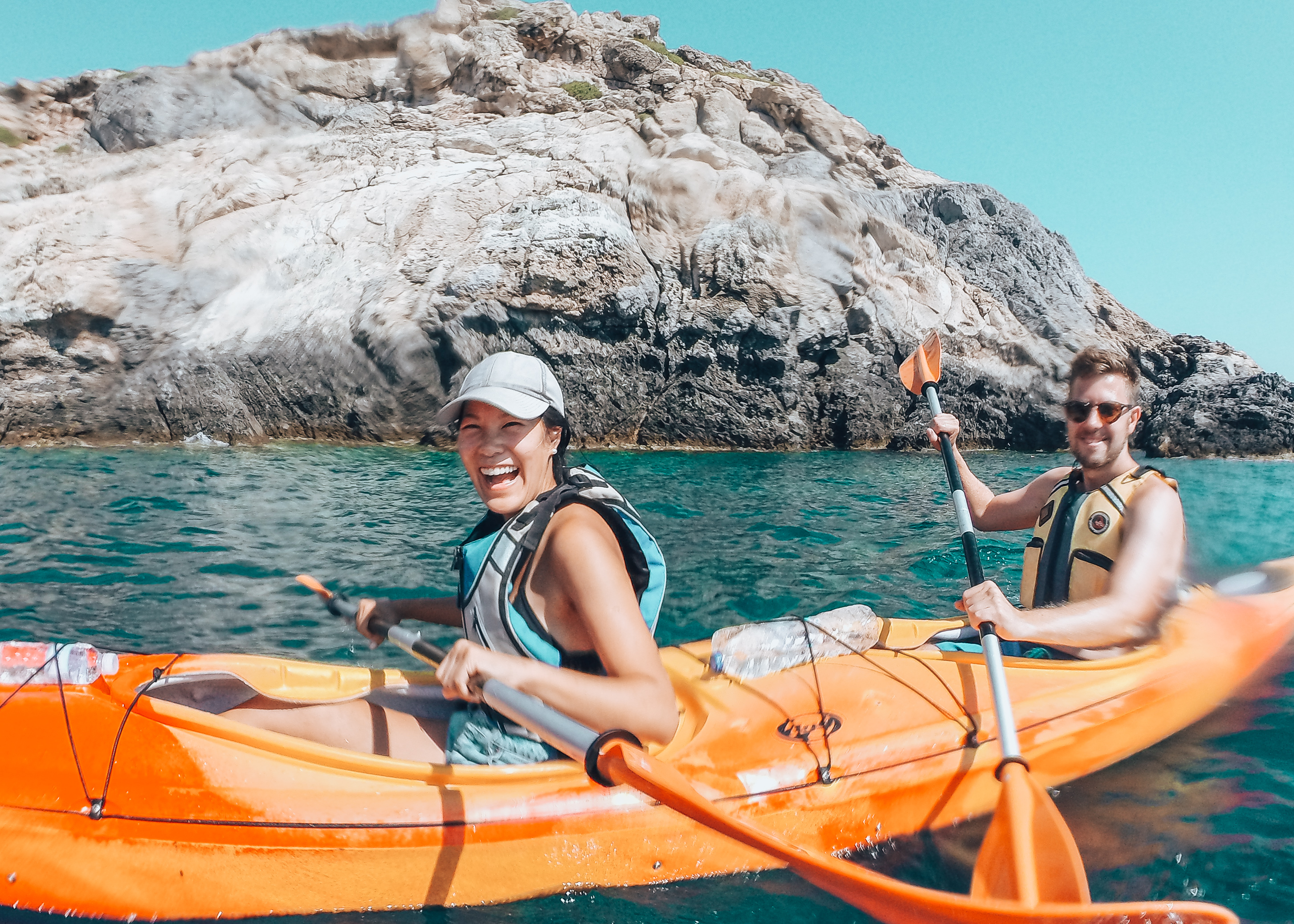 Sea Kayaking in Rhodes, Greece