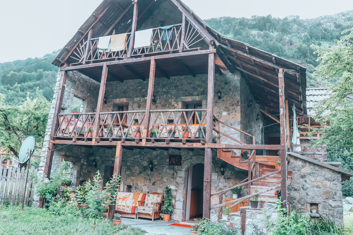 Our Accommodations in Valbone Albania