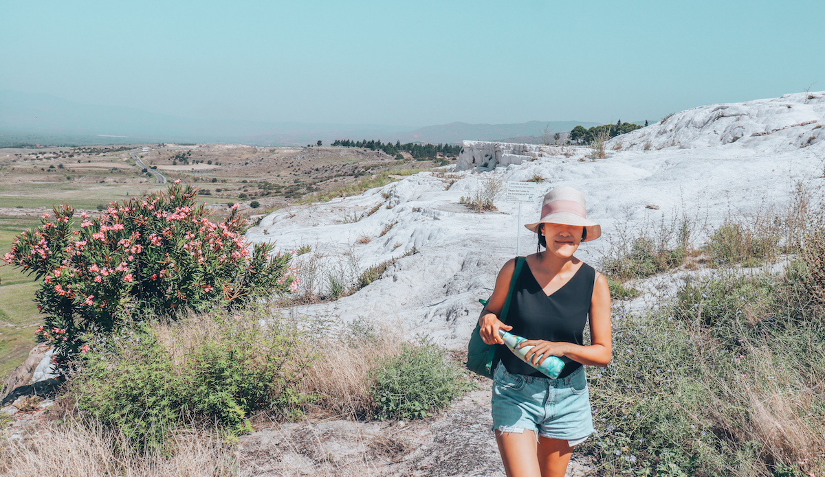 Exploring Pamukkale, Turkey in HOT Summer Weather