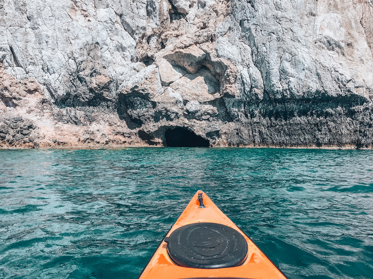 Sea Kayak Tour with Trekking Hellas Rhodes