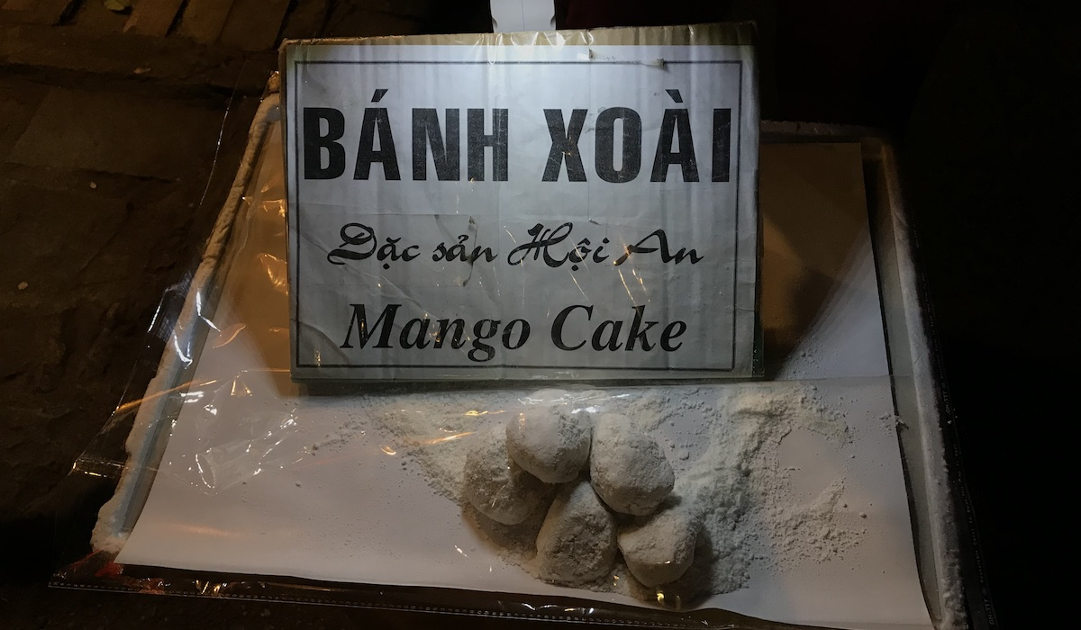 Eating in Hoi An Mango Cake