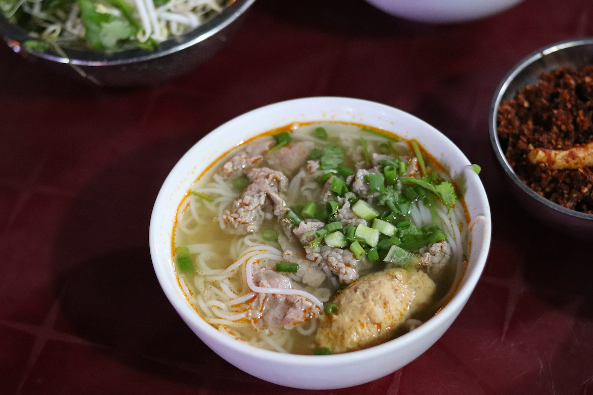 Hue Food Tour Bún bò Noodles