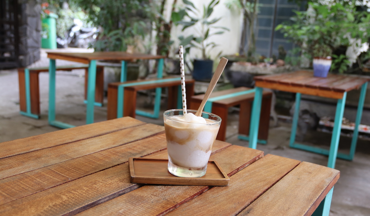 Coconut Coffee at Phin Coffee