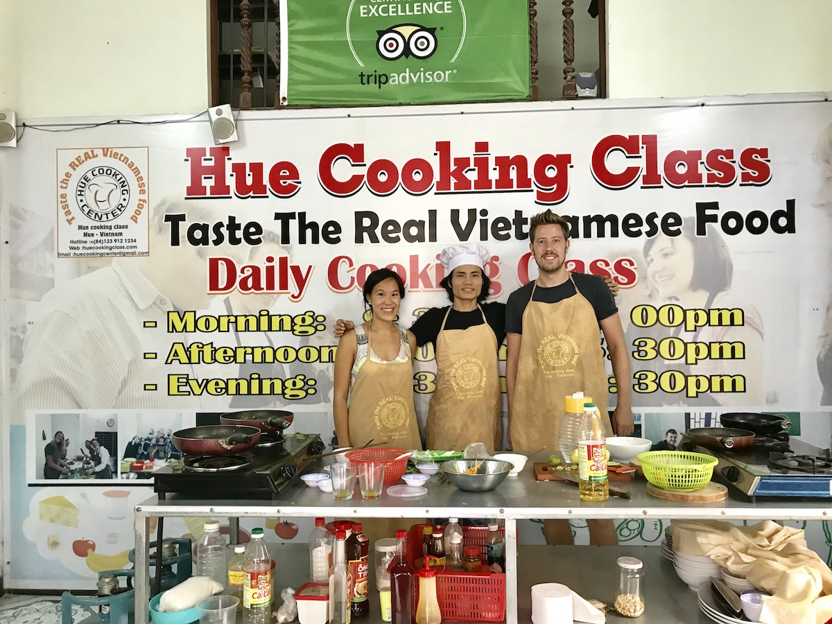 Ahn of Hue Cooking Class