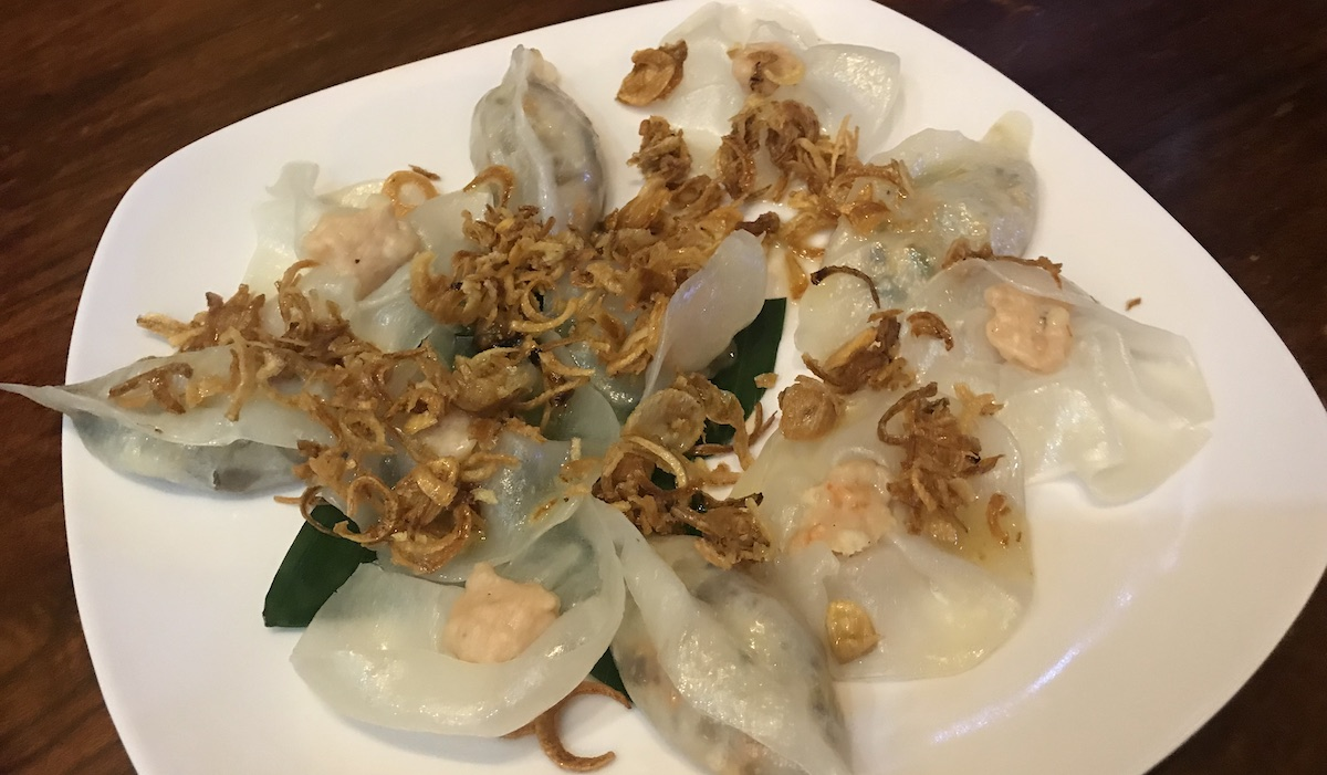 Hoi An White Rose Dumplings