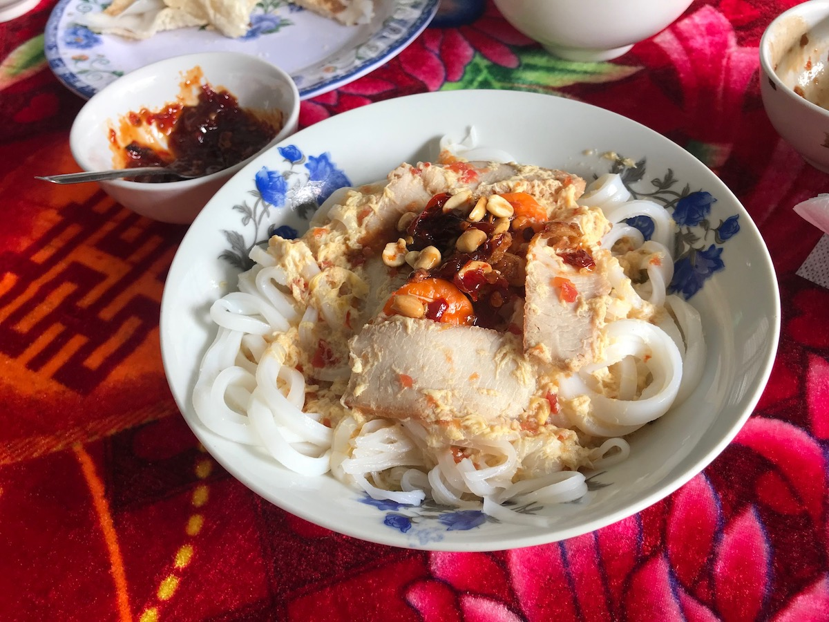 Homemade Vietnamese Rice Noodles