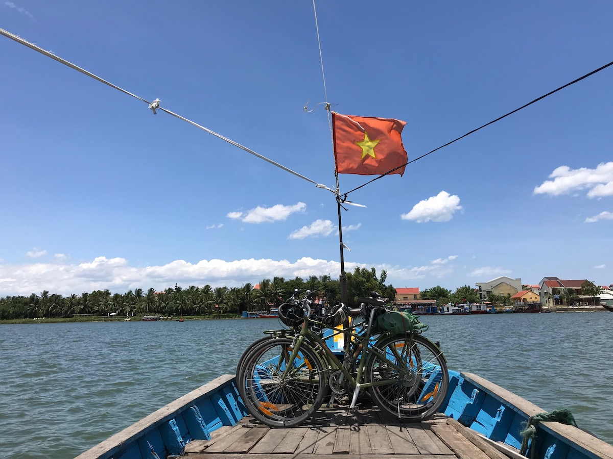 Boatride from Hoi An to Cam Kim Island