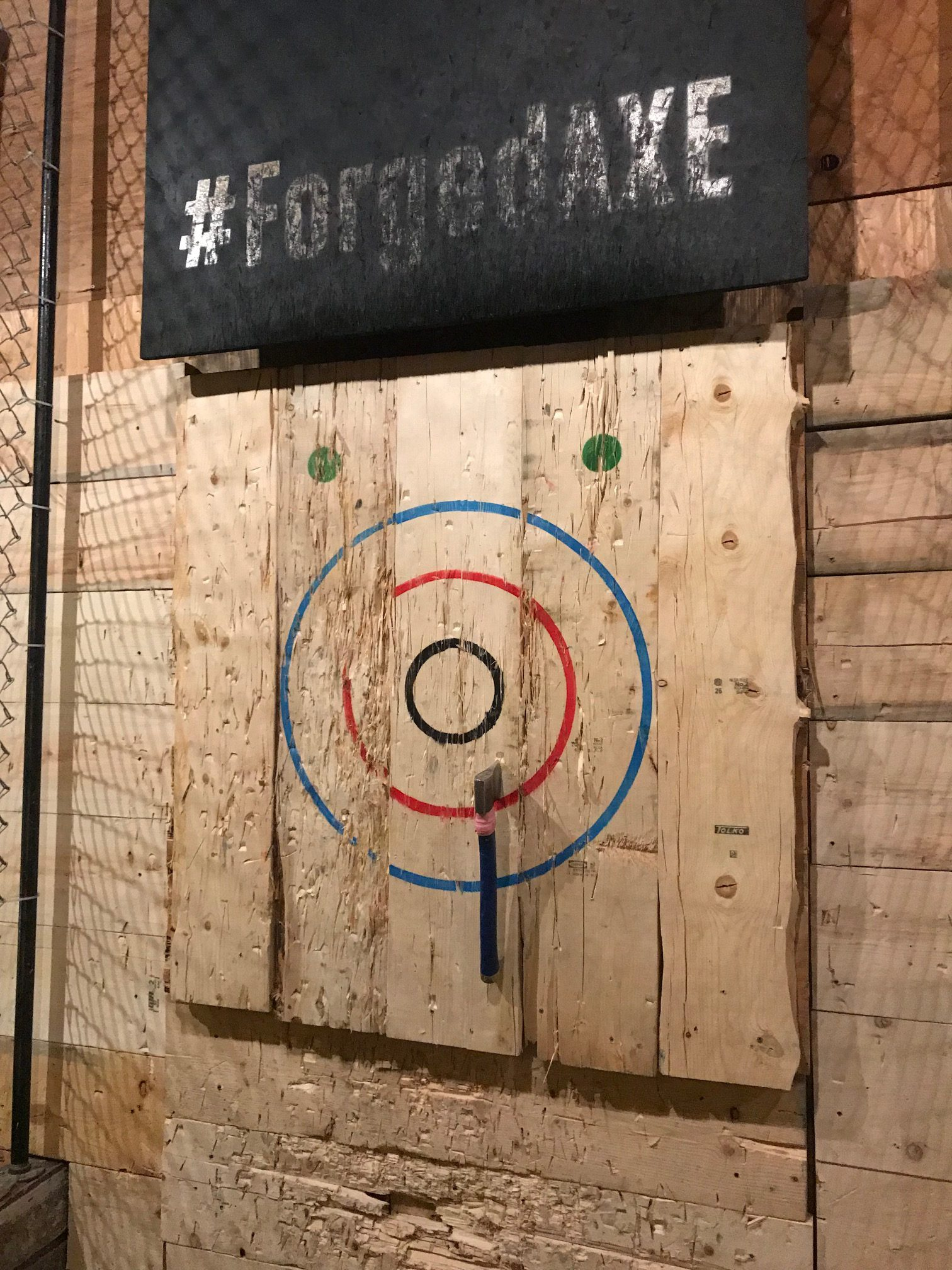 Forged Axe Throwing | Whistler, BC