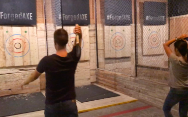 Forged Axe Throwing Whistler
